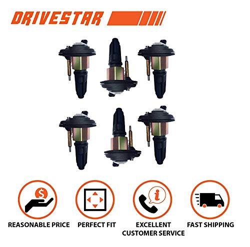 DRIVESTAR DW01659x6 Set of 6 Ignition Coil for 02-05 Chevy Trailblazer GMC Canyon Envoy 4.2L 2.8L 3.5L UF303 C1395 UF-303