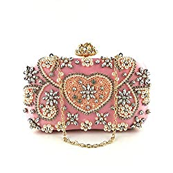 Women's Rhinestone Studded Evening Clutch