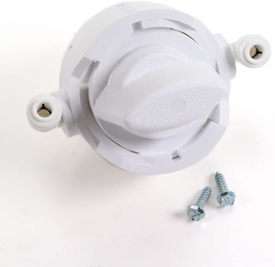 ForeverPRO R0000009 Water Filter By Pass Head for Whirlpool Refrigerator 12319901 12319902 12319903 12319904