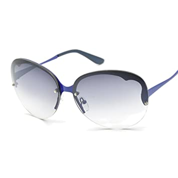 WKAIJC Trends Mode Persönlichkeit Bequem Kreativ Retro Farbfilm Anti-UV Sonnenbrille,B