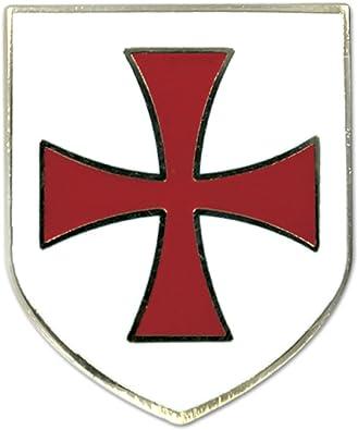 Masonic Red Cross of Constantine Knights Templar Freemason Quality Lapel Pin hat