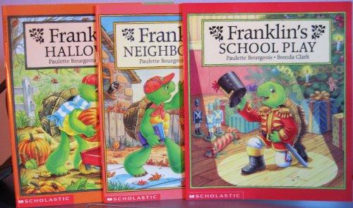 Franklin's School Play / Franklin's Halloween / Franklin's Neighborhood (Franklin Stories Series) -