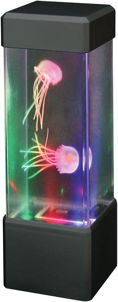 Warm Fuzzy Toys Desktop Aquarium Tower - Jellyfish