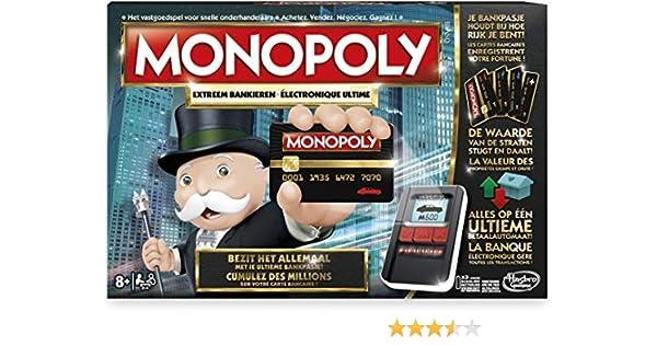MONOPOLY ULTIMATE BANKING: Amazon.es: Juguetes y juegos