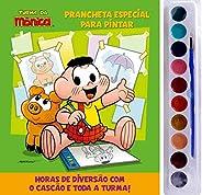 Turma da Mônica - Prancheta Especial Para Pintar: Cascão