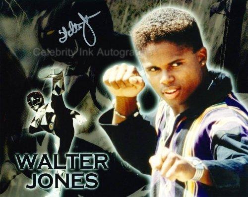 WALTER JONES as Zack Taylor / The Black Ranger - Mighty Morphin Power - Rd Walter