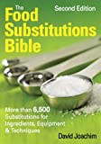 The Food Substitutions Bible, David Joachim, 0778802450
