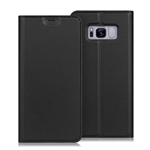 Fintie Samsung S8 Plus Case, Premium PU Leather [Slim Flip] [Card Slot] Protective Wallet Cover