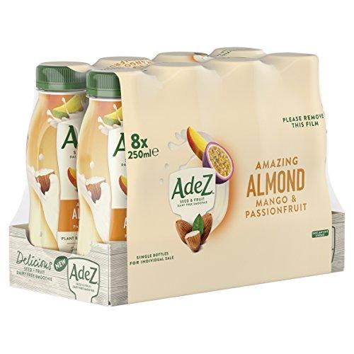 AdeS Bebida Vegetal Almendra de Leyenda Mango - Maracuyá - 0.25 l: Amazon.es: Alimentación y bebidas