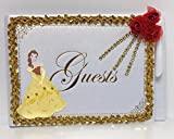 Belle Beauty and the Beast Signature Guest Book Birthday Sweet 16 Mis Quince Keepsake