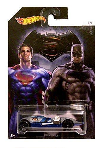 Hot Wheels Twin Mill (Hot Wheels - Batman vs Superman Dawn of Justice - Twin Mill (Long Card))