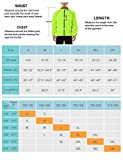 BALEAF Men's Cycling Running Jacket Waterproof