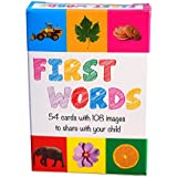 First Words Cards - 108 Photographic Images on 54 Cards