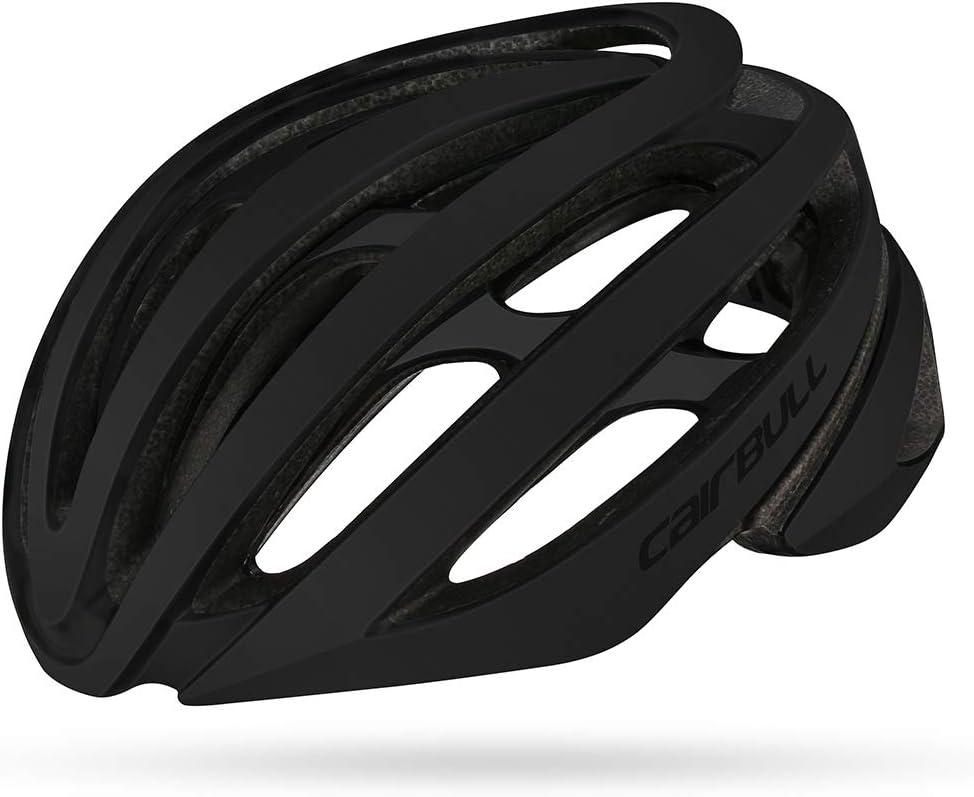 58-61cm Cairbull Cycling Helmet Adultos Hombres//Mujeres Road Mountain Bike Racing Ligero Casco de Montar de Doble Capa M (54-58cm para Ni/ños L