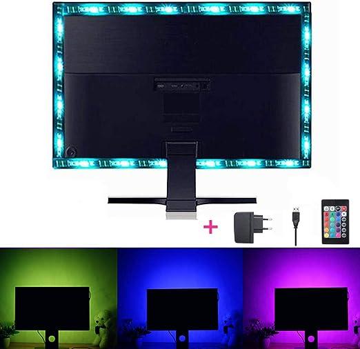 Solmore Barra de retroiluminación de televisor LED con pantalla de ...