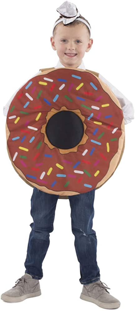 Dress-Up-America Donut Costume For Kids - Sprinkle Doughnut Costume For Halloween - Great For Girls And Boys