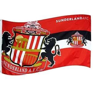 Sunderland A.F.C, de la bandera de Hz - de la bandera de tamaño grande MetalEyelets 152,4 cm x 91,44 cm producto oficial de balón de fútbol oficial