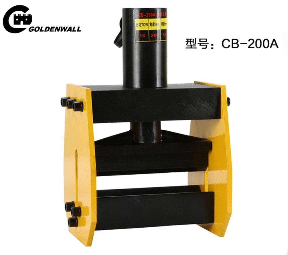 CGOLDENWALL CB 150D CB 200Aブスバー アルミバスバーベンダー バスバープロセッサ 油圧カッター CP-700ポンプ付 (CB 200A) B0756ZGGKC