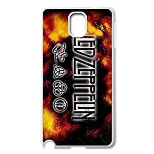 Fashion Led Zeppelin Back Protective Back Case Slim Printed cover for Samsung Galaxy Note 3 N9000 -White030908
