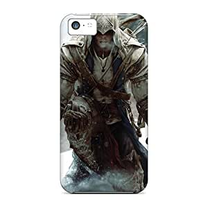 Excellent Design Assassins Creed 3 Cases Covers For Iphone 5c wangjiang maoyi