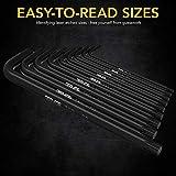 LEXIVON Master Wrench Key Set, 35-Piece Long Arm