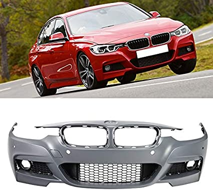 M-SPORT BMW 3 F30//F31 12-16 FRONT BUMPER FOG LIGHT LAMP GRILLE RIGHT O//S