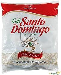 Santo Domingo Cafe Ground 12 Sachets 1 Oz (2 Packs of 12 Units) 24