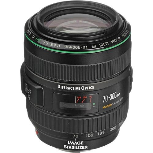 Canon EF 70-300mm f/4.5-5.6 DO IS USM Lens for Canon EOS Cam
