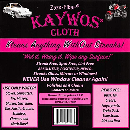 Sparkle Cloth Window - Zezo Fiber Miracle Cleaning and Polishing Cloth By Kaywos (10)