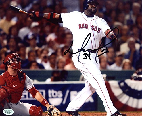 David Ortiz Boston Red Sox Signed Autographed 8