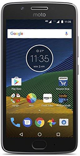 Renewed  Motorola G5 XT1677  Lunar Grey, 16 GB