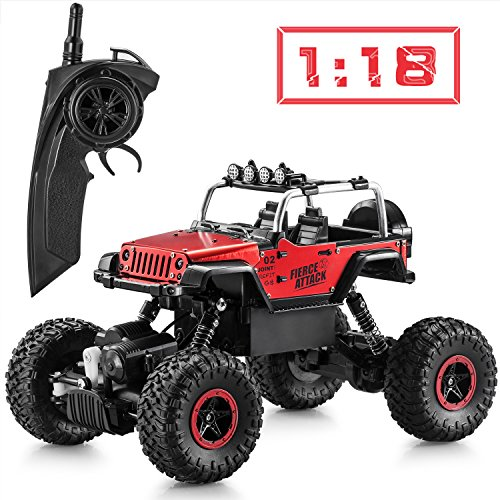 Tobeape RC Car, Wireless Remote Control Off Road RC Toy C...