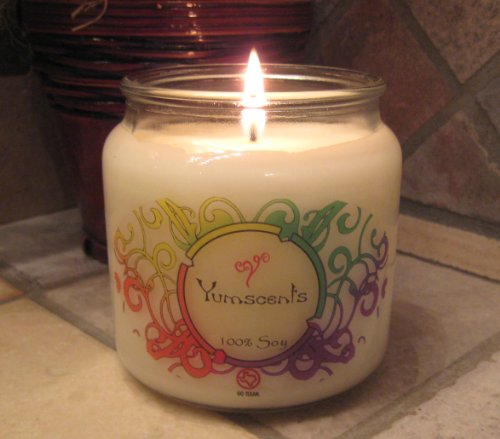 Yumscents 16-Ounce Apothecary Soy Candle, Frankincense and Myrrh
