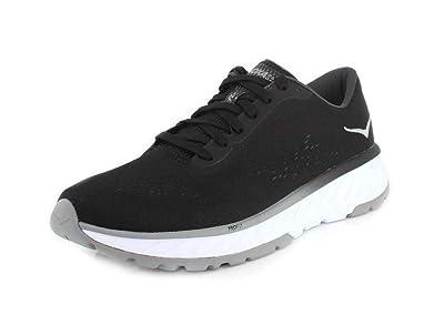 HOKA ONE ONE Mens Cavu 2 Black/White Running Shoe