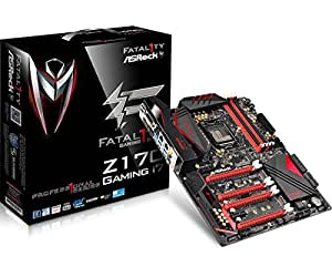 ASRock FATAL1TY Z170 PROFESSIONAL GAMING I7 LGA1151/ Intel Z170/ DDR4/ Quad CrossFireX & Quad SLI/ SATA3&USB3.1/ M.2&SATA Express/ A&2GbE/ ATX Motherboard.