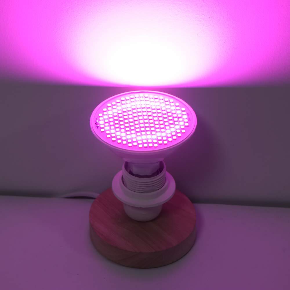 FreeLeben Lampadine LED Grow Piante Rosso e Blu Lampada UV E27 30W per idroponica Fiori Verdura Frutta Lampada a Spettro Completo Fiori Piante grasse