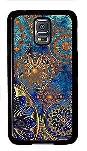 Vintage Retro Mandala Aztec Pattern Theme Samsung Galaxy S5 i9600 Case by runtopwell