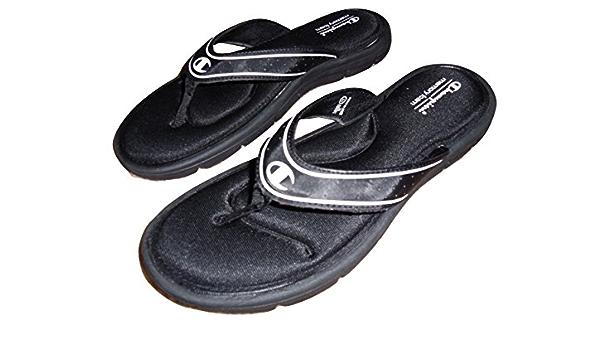 Champion Black Comfort Memory Foam Flip