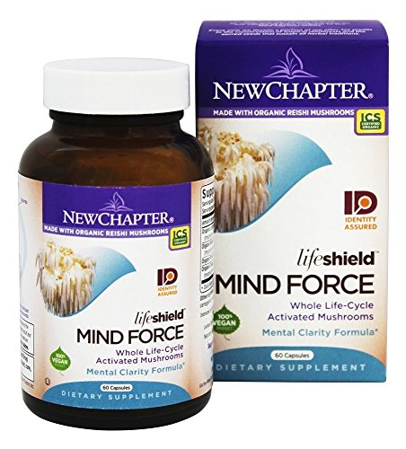 - New Chapter - LifeShield Mind Force - 60 Vegetarian Capsules