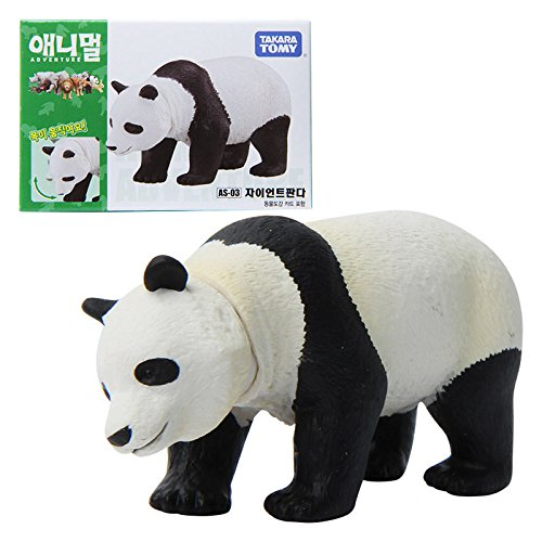Takara Tomy ANIA Animal AS-03 Giant Panda Mini Action Figure Toy