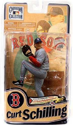 McFarlane Toys MLB Cooperstown Series 8 Action Figure Curt Schilling (Boston Red ()