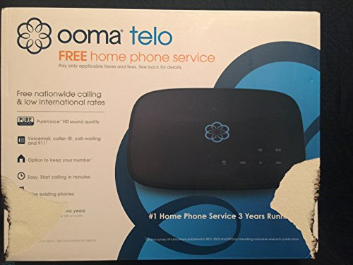 Ooma Telo Free VoIP Home Service