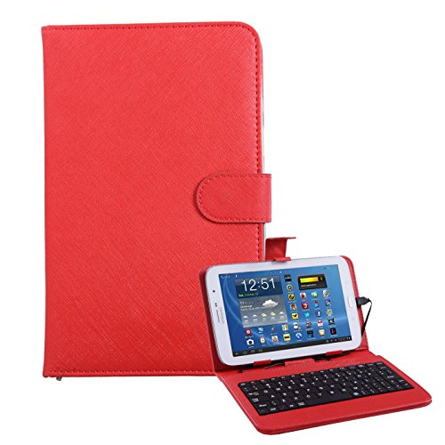 HDE Hard Leather Folding Folio Case for 7