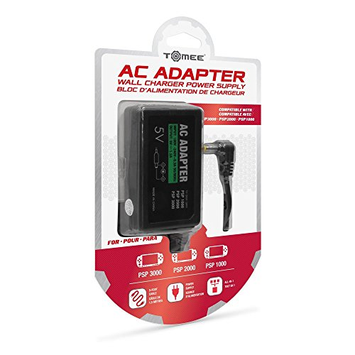 Amazon.com: Tomee AC Adapter for PSP 3000/ PSP 2000/ PSP 1000 (Certified Refurbished): Video Games