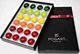 POGART handcrafted gourmet dark chocolate assortment with premium, organic and natural ingredients.