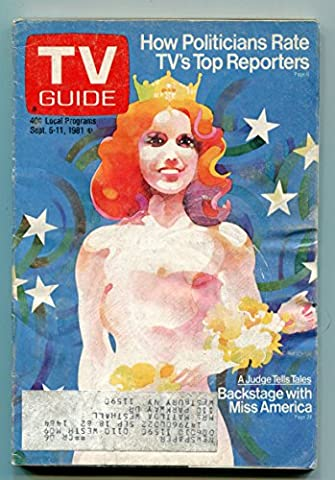 TV Guide-Miss America-New York Metropolitan Edition-September 1981-VG (Tv Guide September 1981)