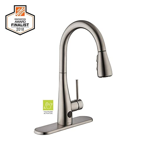 Glacier Bay Nottely Touchless Single-Handle Pull-Down Sprayer Kitchen Faucet