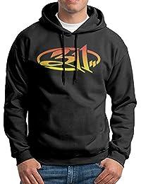 311 Band Mens Casual Pullover Hooded Sweatshirt Black