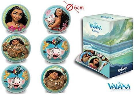 Moana Vaiana - Lote de 3 Pelotas para jonger (6 cm): Amazon.es: Jardín
