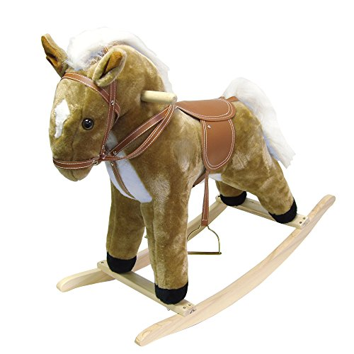Happy Trails Plush Rocking Horse Ride On